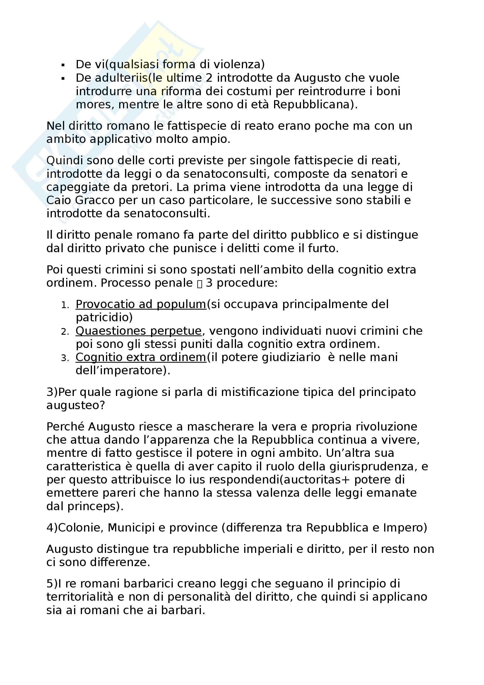 Storia del diritto romano - La compilazione giustinianea Pag. 6