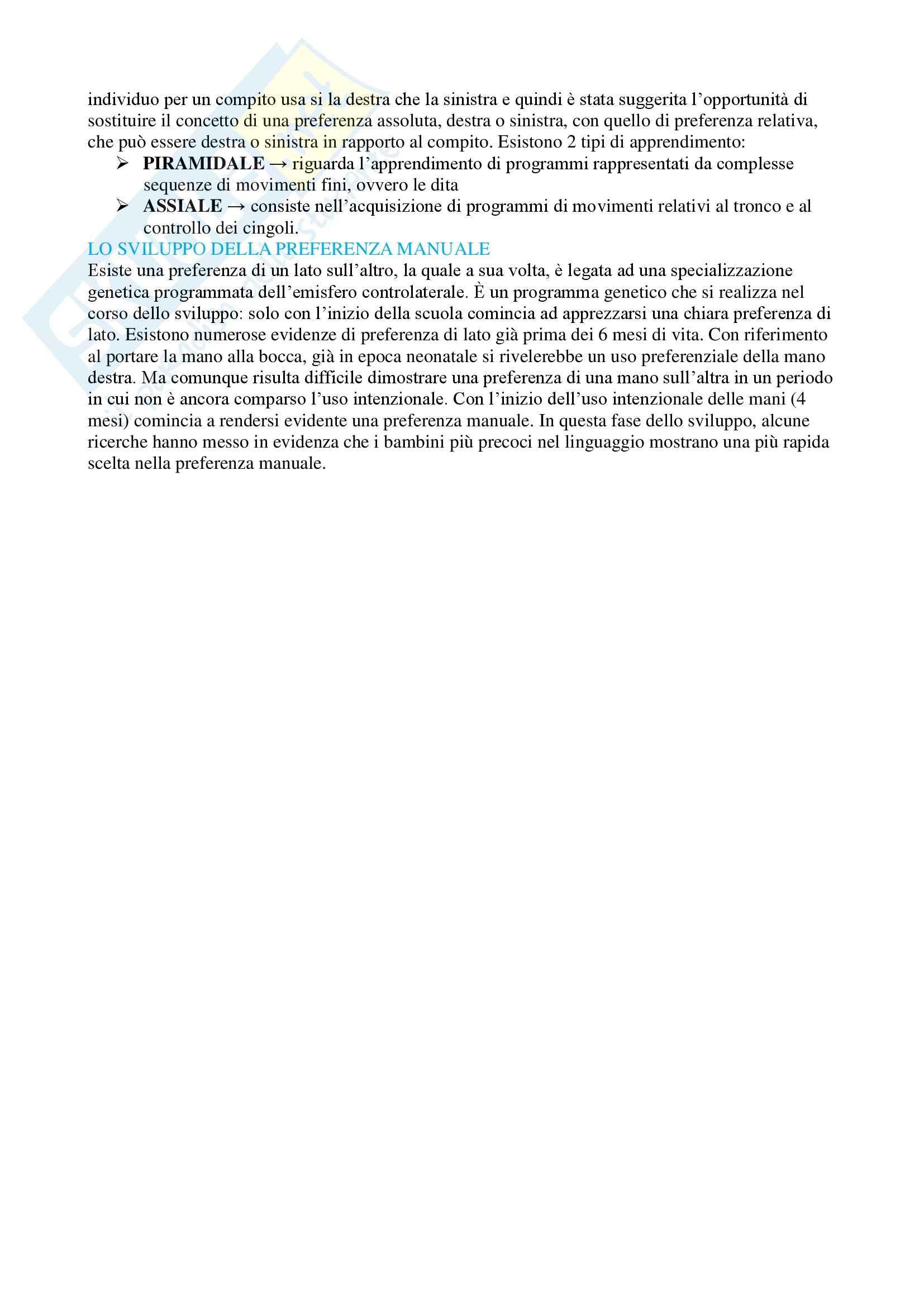 Sviluppo neuropsichico Pag. 16