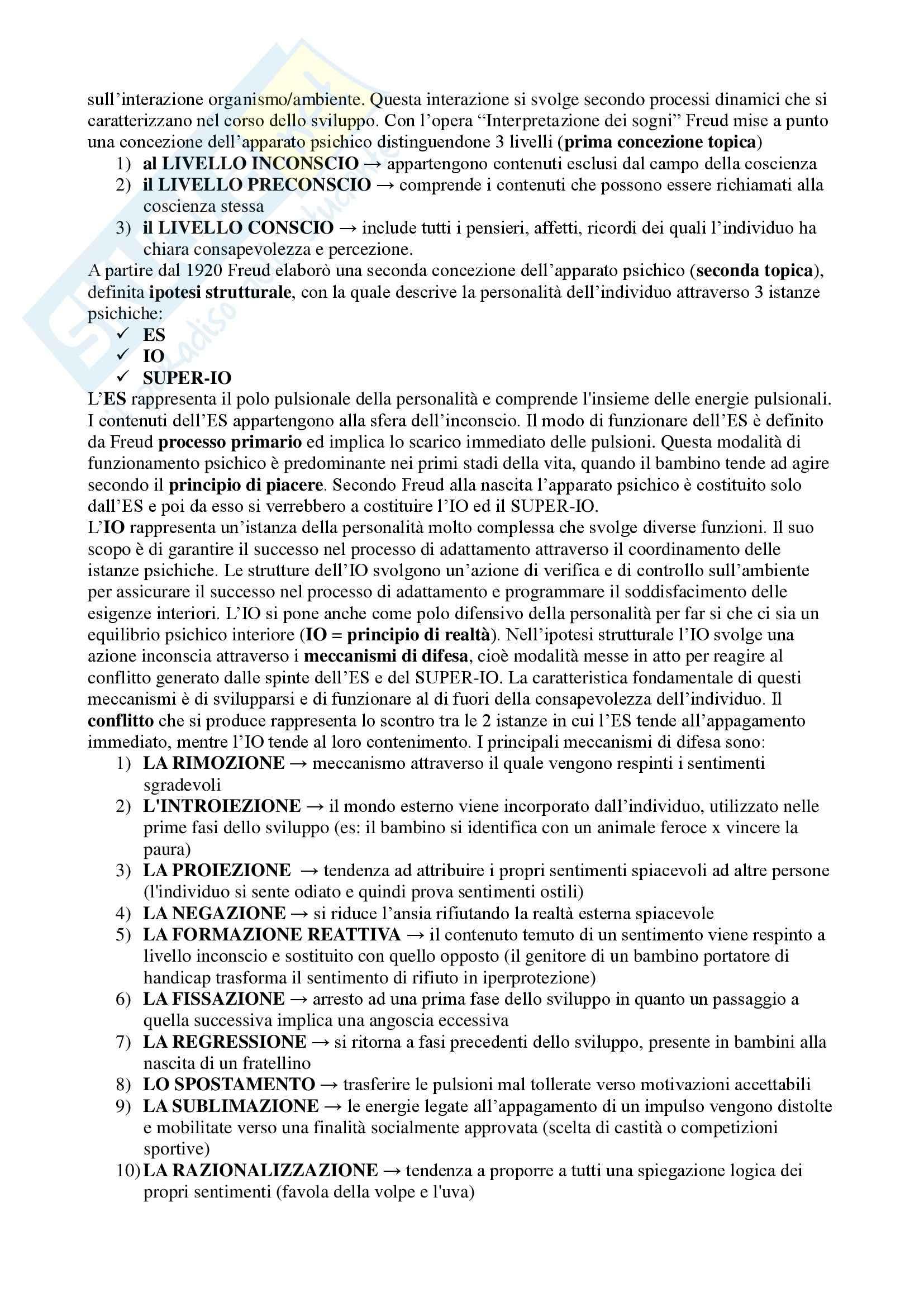 Sviluppo neuropsichico Pag. 2