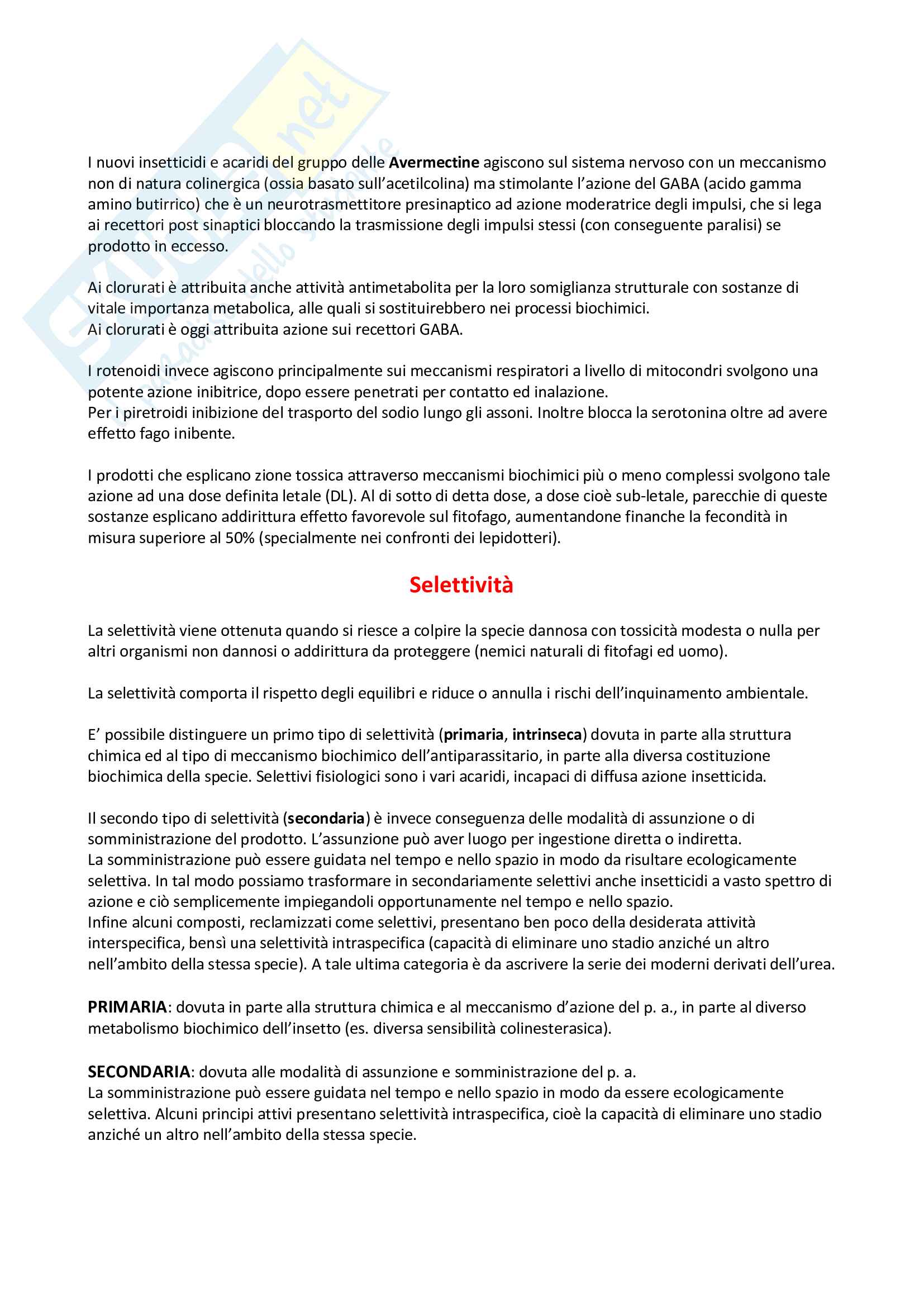 Entomologia - Insetticidi Pag. 11