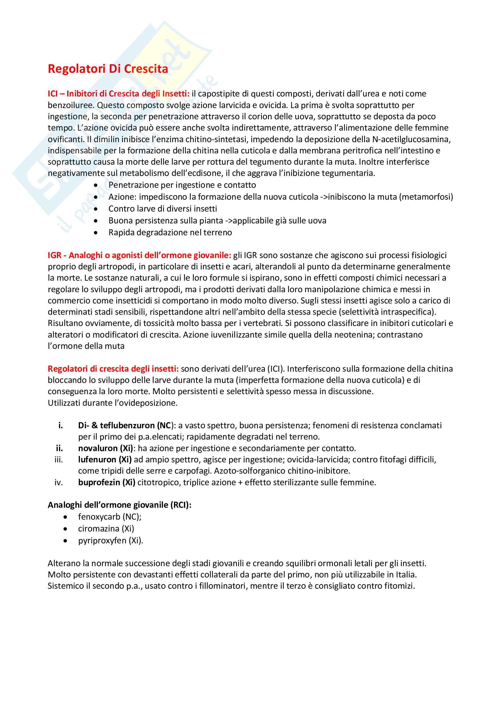 Entomologia - Insetticidi Pag. 6
