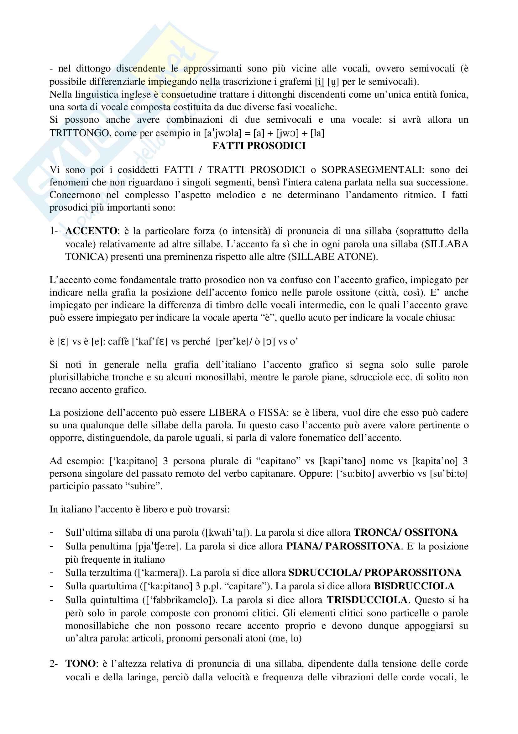 """Riassunto esame Linguistica Generale, prof Benvenuto, libro consigliato: La linguistica. Un corso introduttivo"""", Berruto, Cerruti, 2017 Pag. 36"""