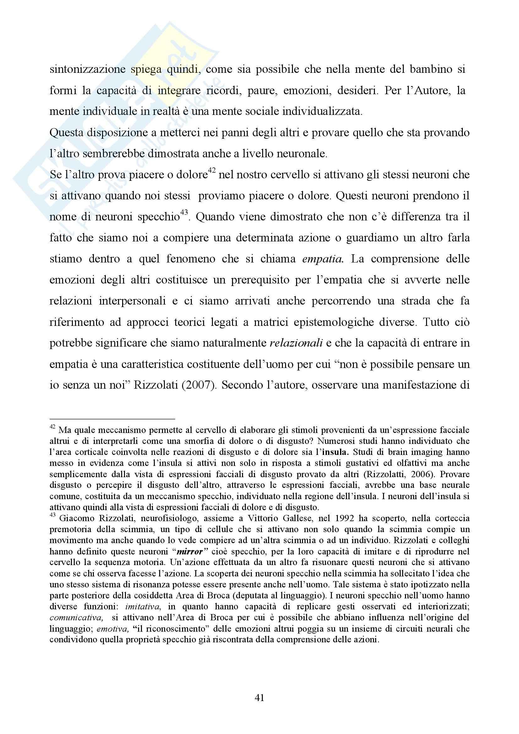 Laboratorio teoria delle emozioni - teorie delle emozioni Pag. 41