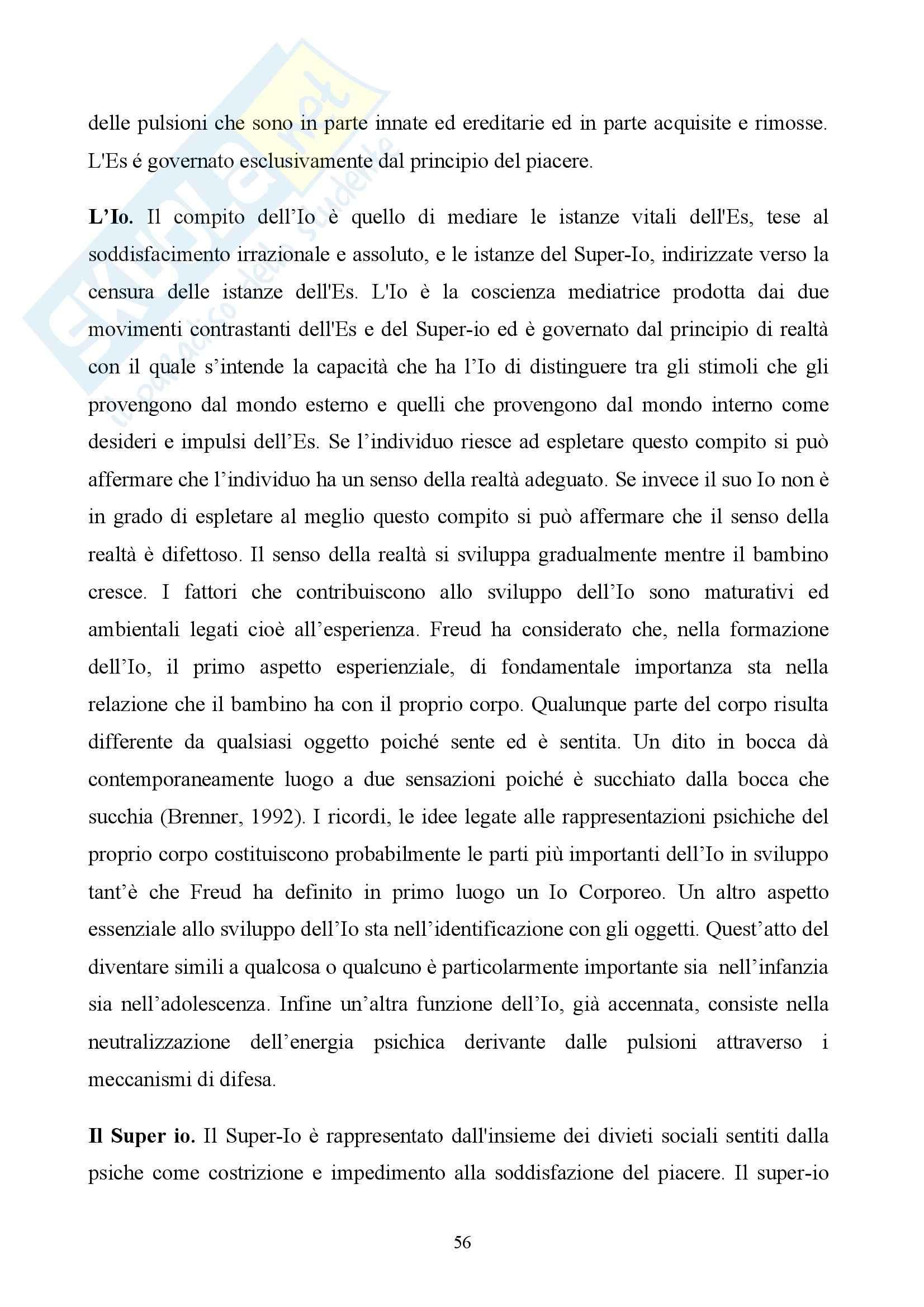 Laboratorio teoria delle emozioni - teorie delle emozioni Pag. 56