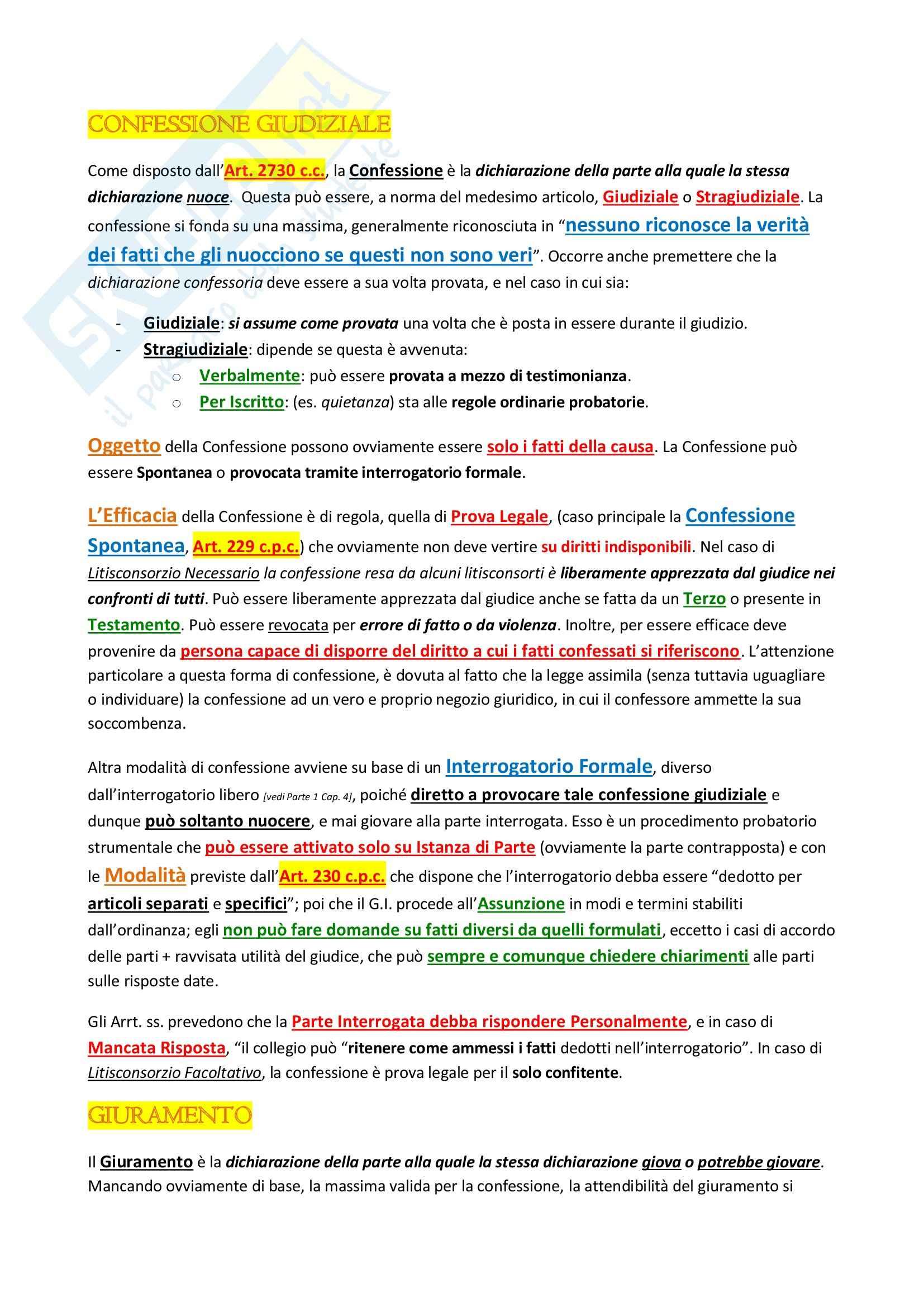 Diritto processuale civile I - parte 1 Pag. 66