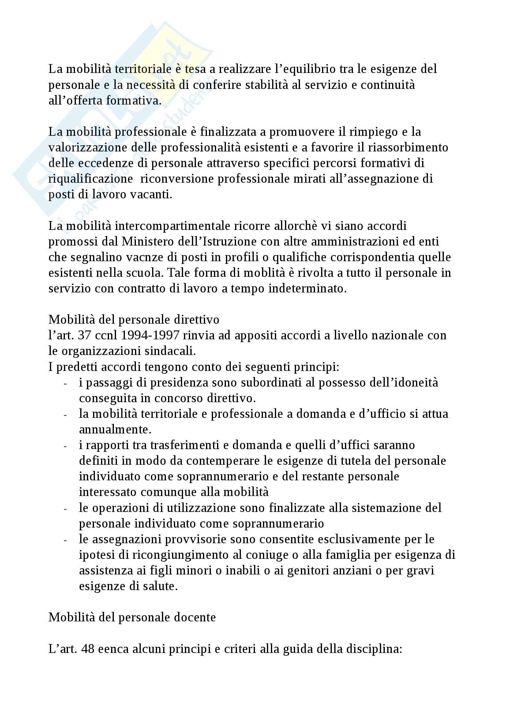 Riassunto esame Legislazione scolastica, prof. Calascibetta, libro consigliato Compendio di legislazione scolastica, Francavilla Pag. 31