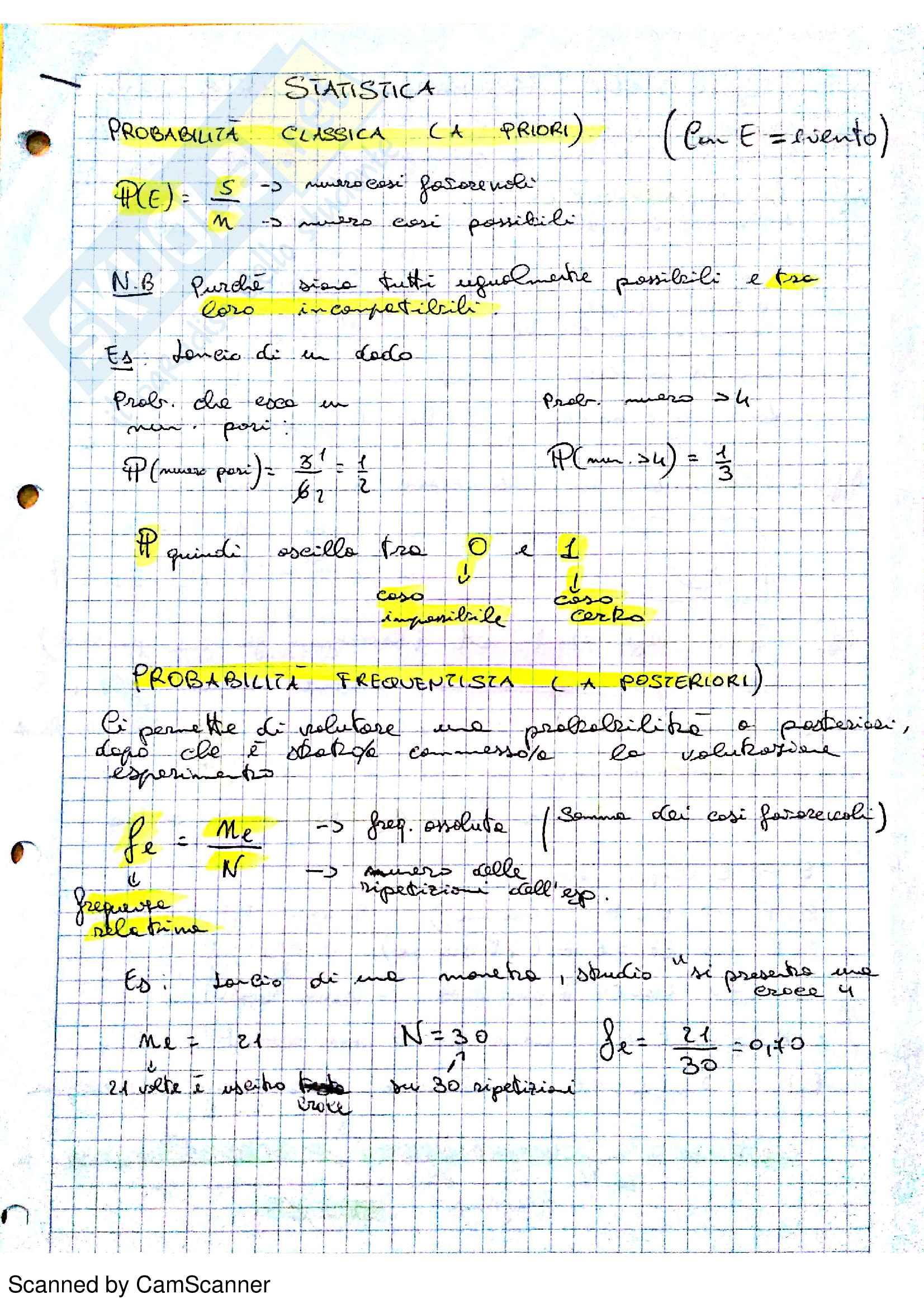 Statistica, Appunti lezione, analisi degli output minitab, Vicario