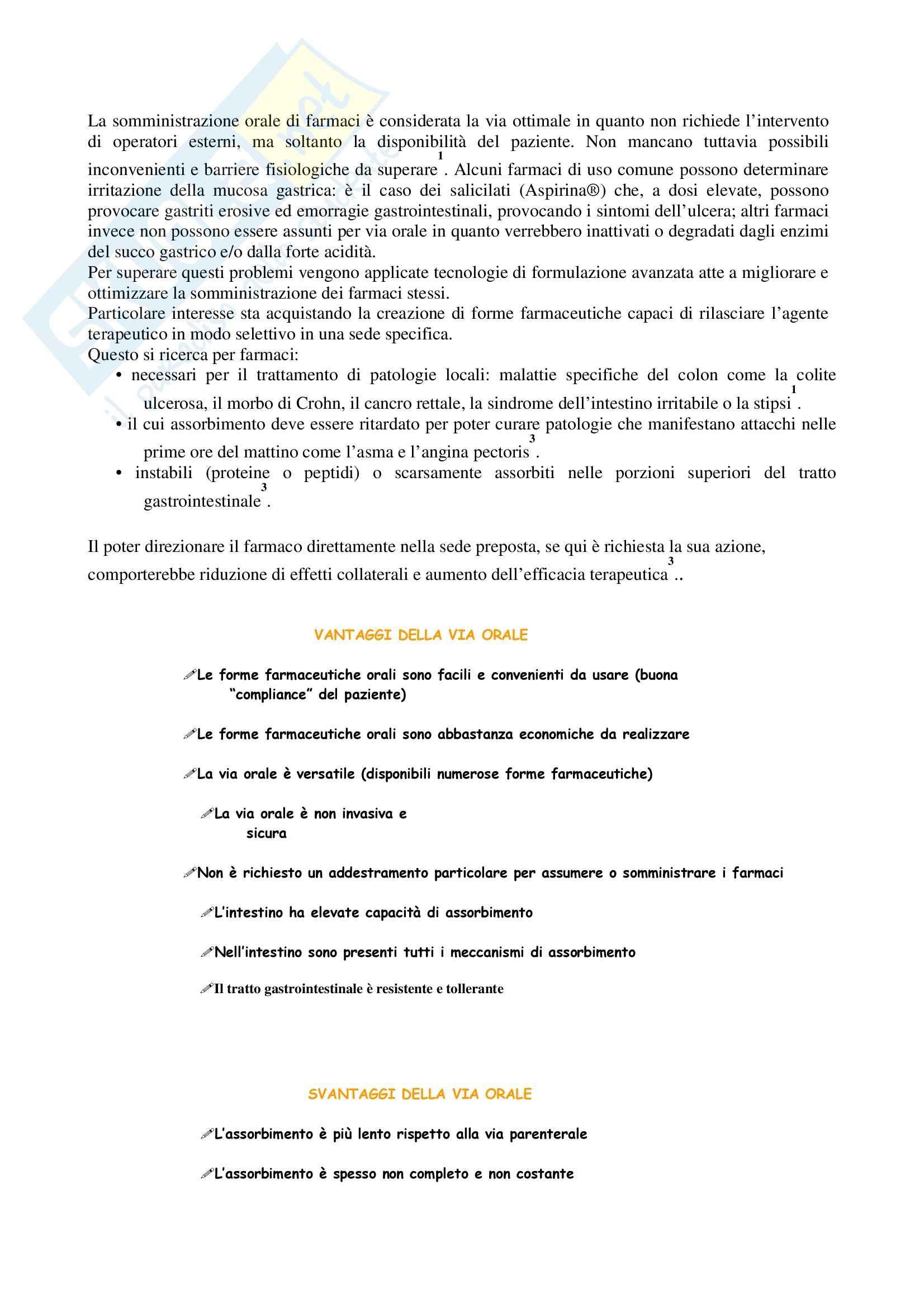 appunto A. Tomaino Farmacologia generale