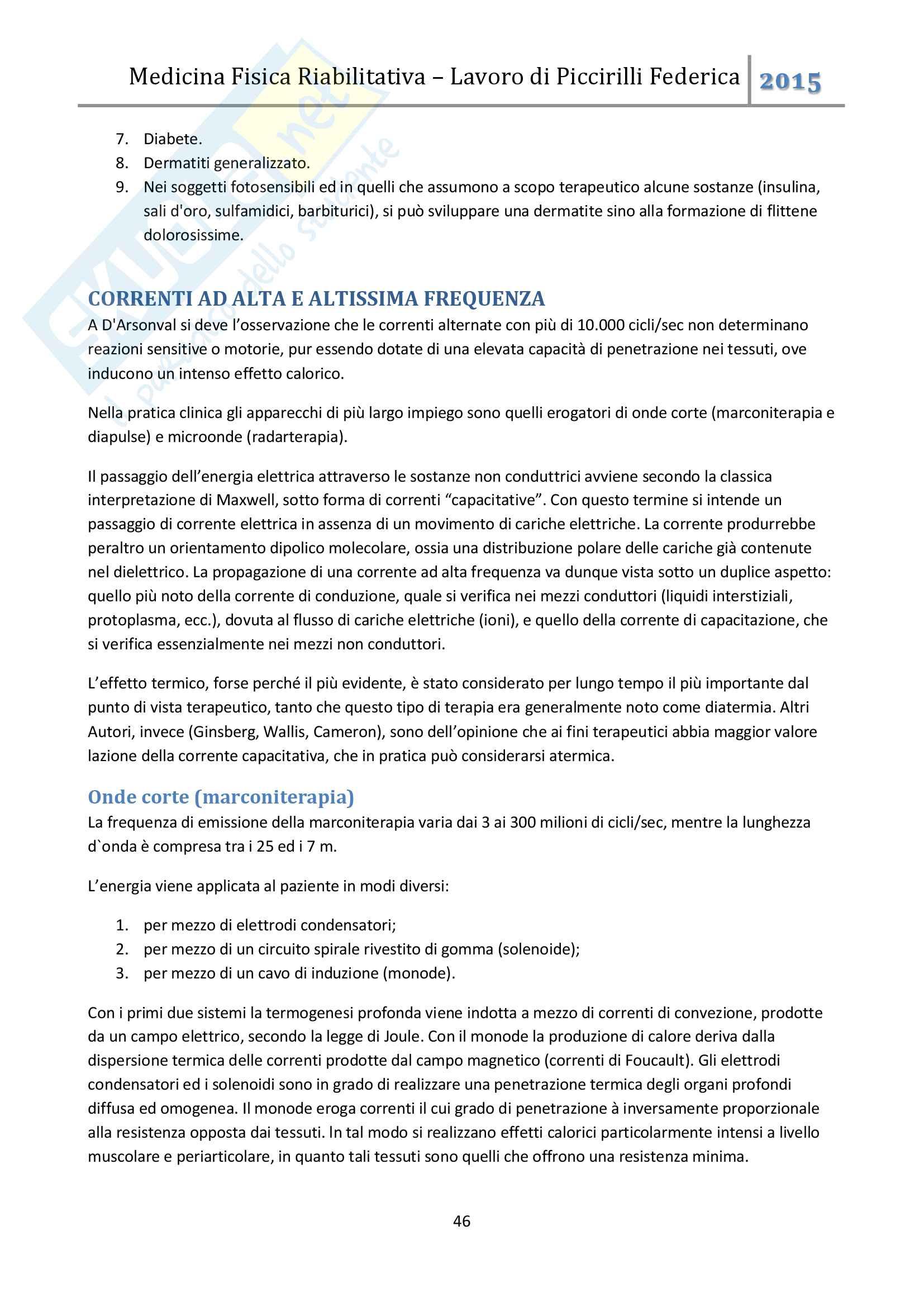Medicina fisica riabilitativa Pag. 46