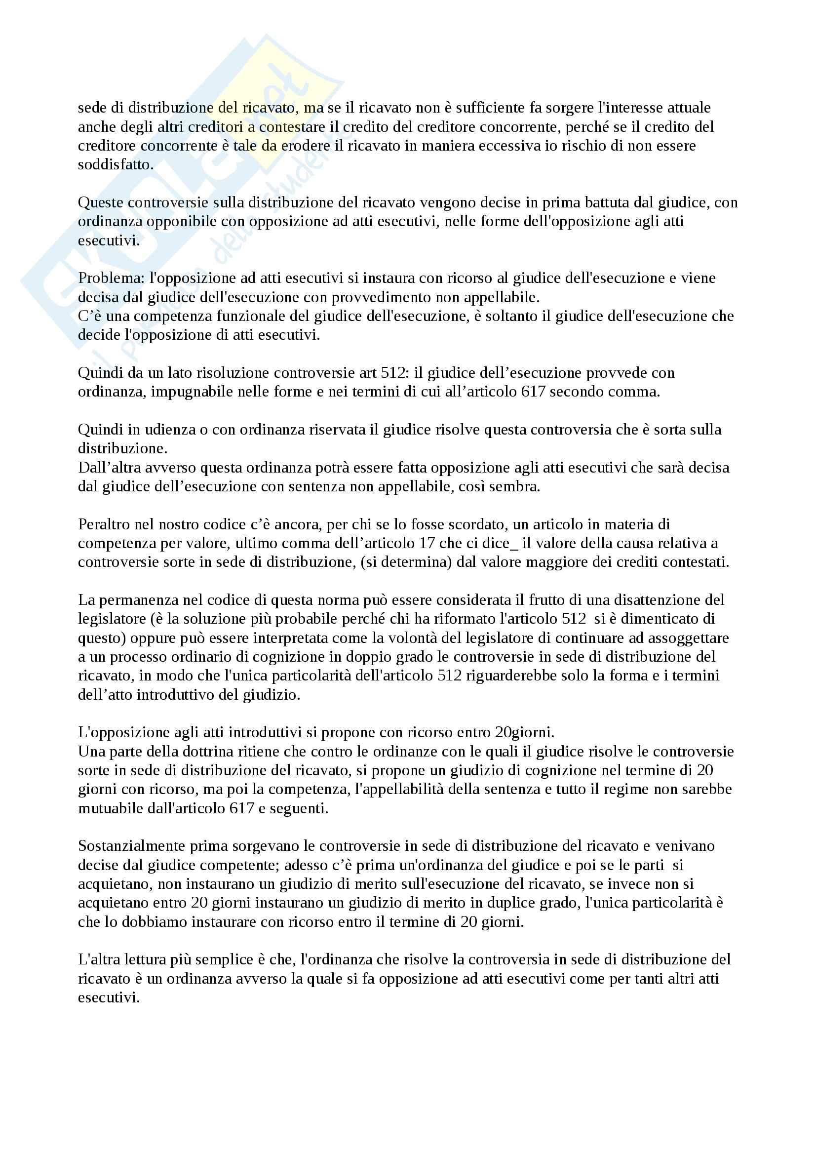 Lezione 21, Procedura civile Pag. 6